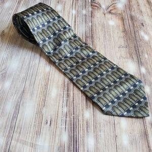 Mens David Taylor polyester tie